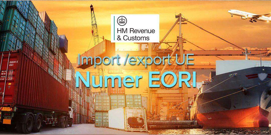 HMRC informuje, że powinieneś wystąpić o numer EORI jeżeli zajmujesz się importem/eksportem w Unii Europejskiej.