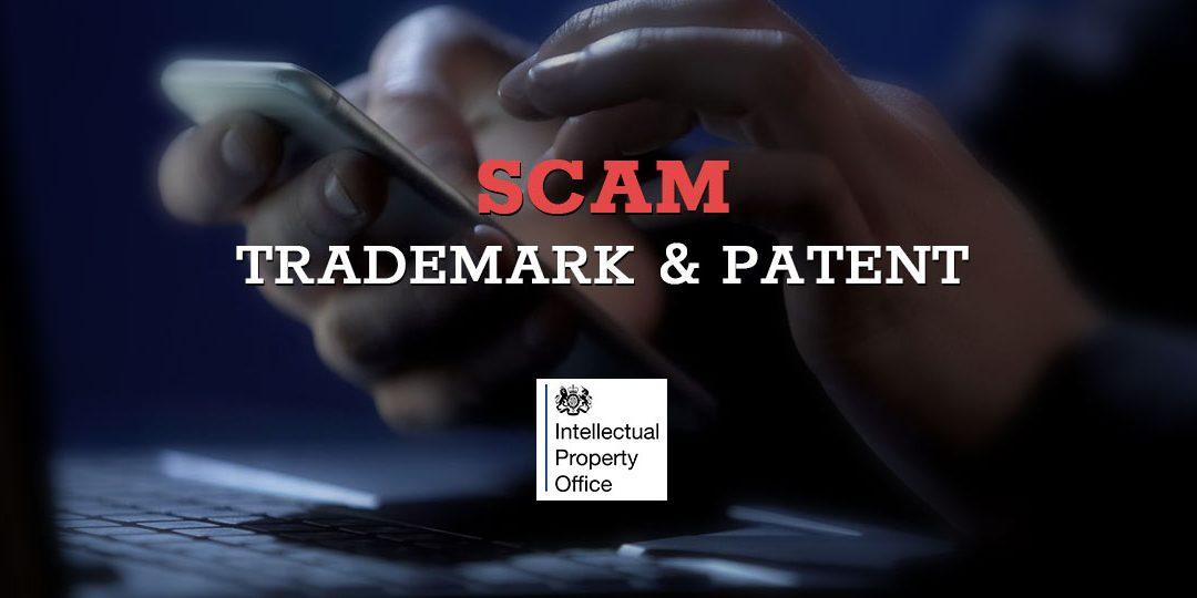 Uważaj na SCAM i oszustwa, kiedy rejestrujesz swój brand / trademark w urzędzie patentowym